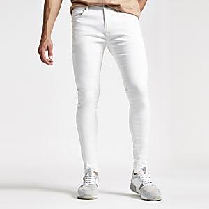 Danny – Superenge, weiße Skinny Jeans