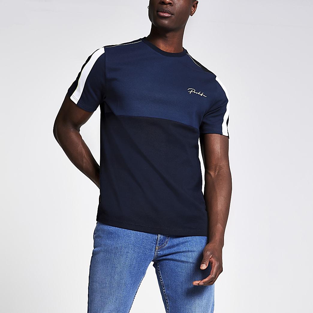 Navy slim fit Prolific T-shirt