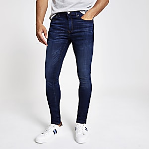 Dark blue Danny super skinny jeans