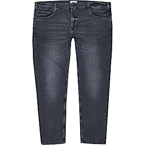 Only & Sons – Big & Tall – Schwarze Jeans