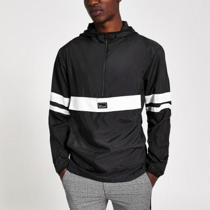 Only & Sons black block lightweight jacket
