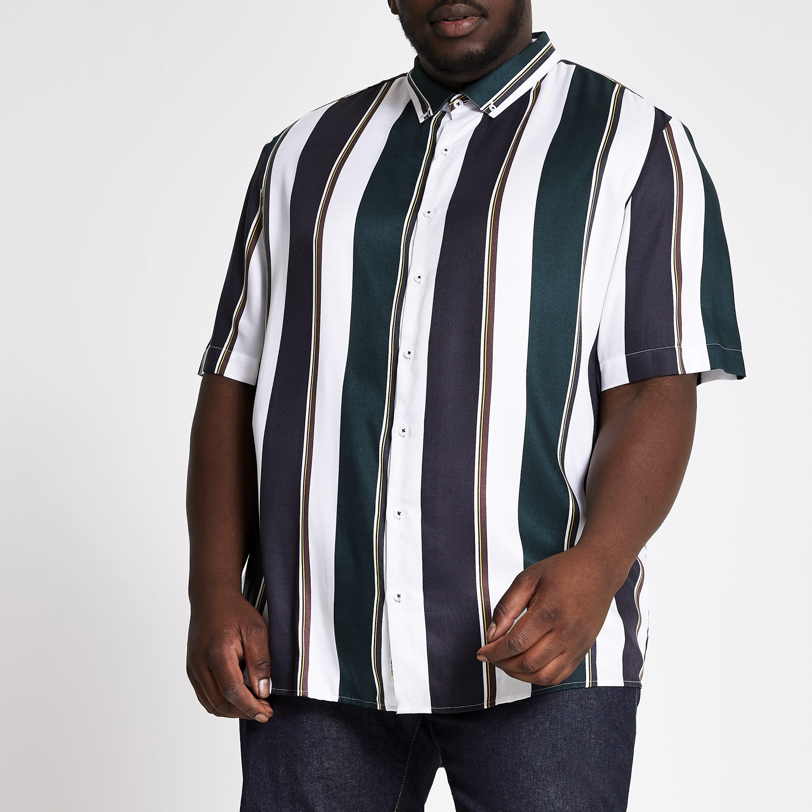 8c0cbf5250344b Short Sleeve Dress Shirts Mens Big And Tall
