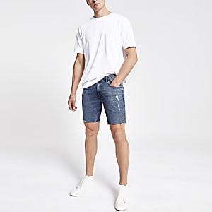 Dylan – Dehnbare Slim Jeansshorts