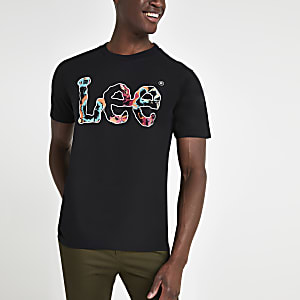 Lee – T-Shirt mit botanischem Logo
