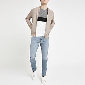 Lee light blue slim fit tapered Luke jeans
