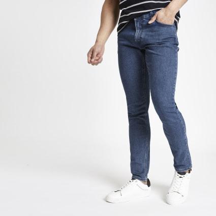 Lee dark blue  Malone skinny fit jeans