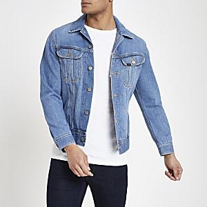 Lee blue slim fit denim jacket