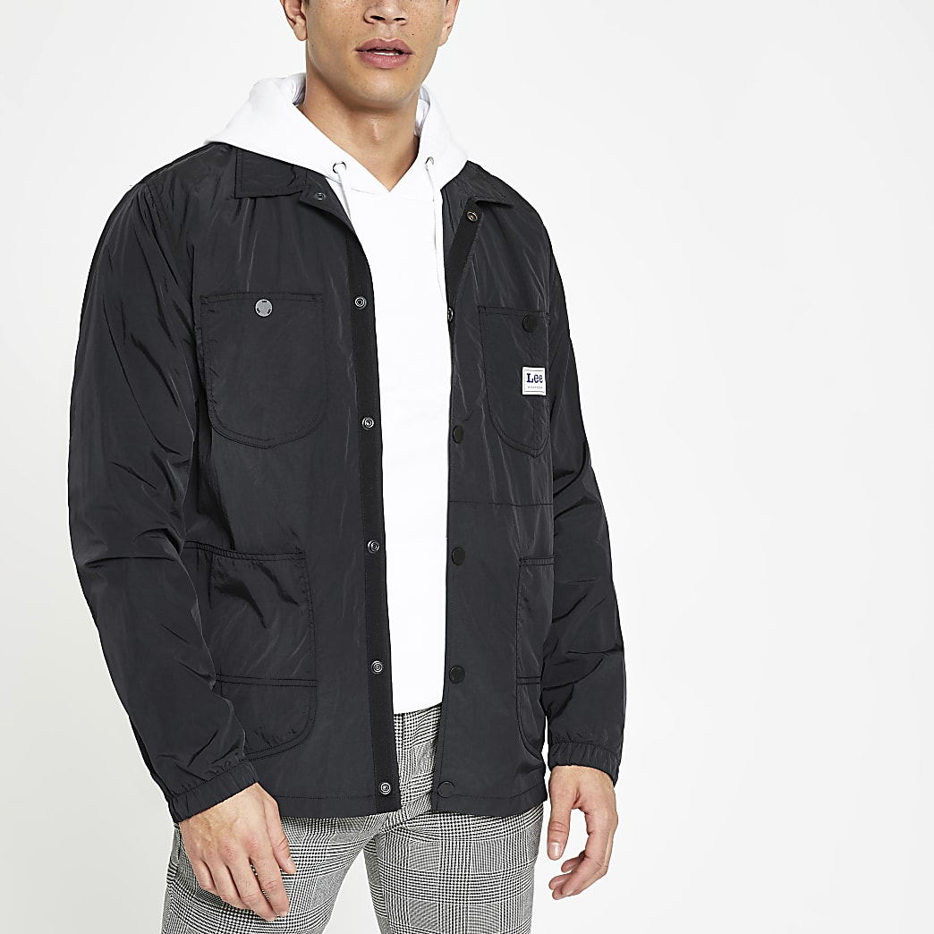 Lee black loco jacket