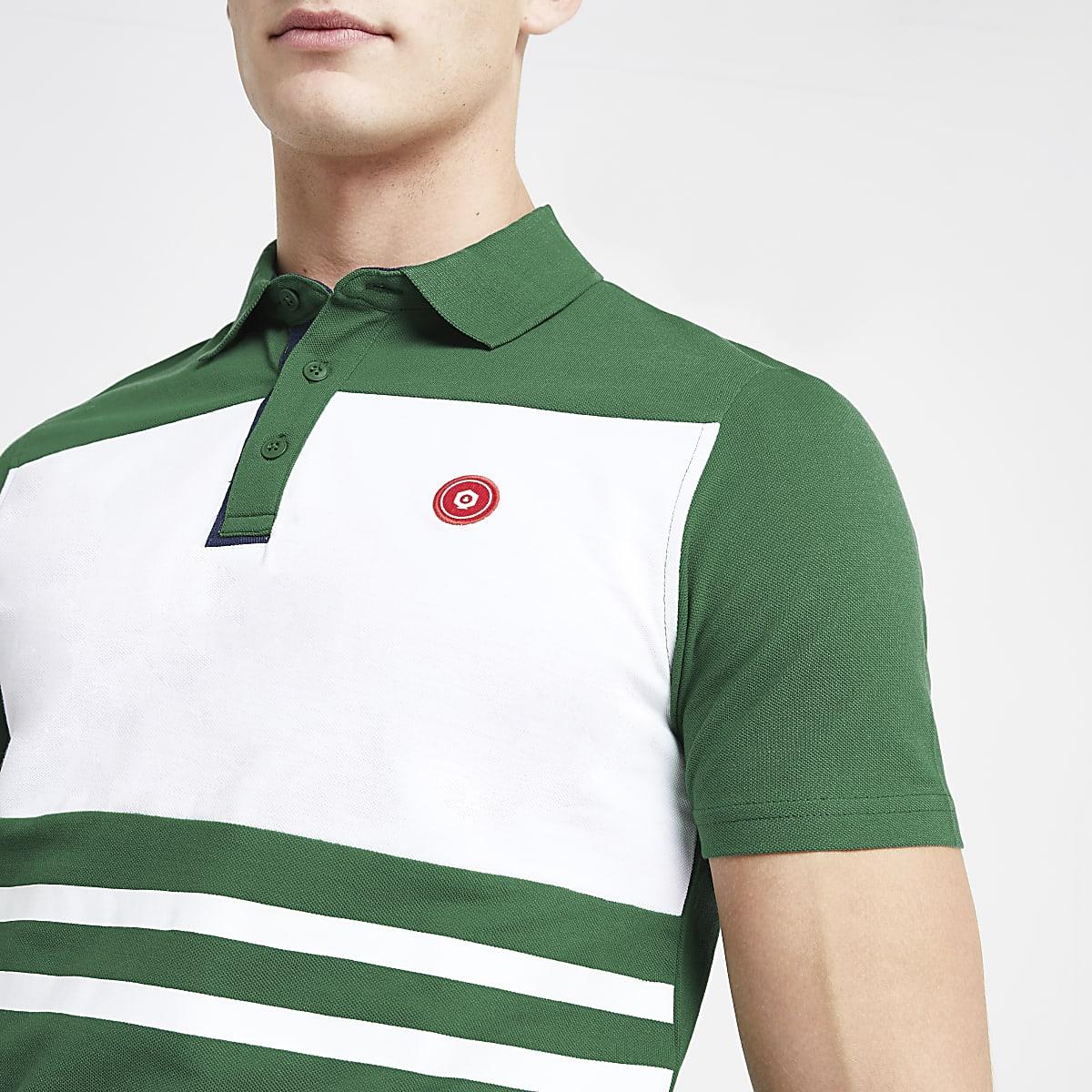 Jack and Jones green polo shirt