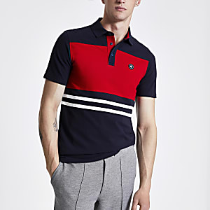 Jack & Jones – Marineblaues Polohemd