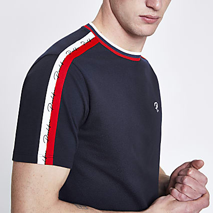 Navy Prolific slim fit T-shirt