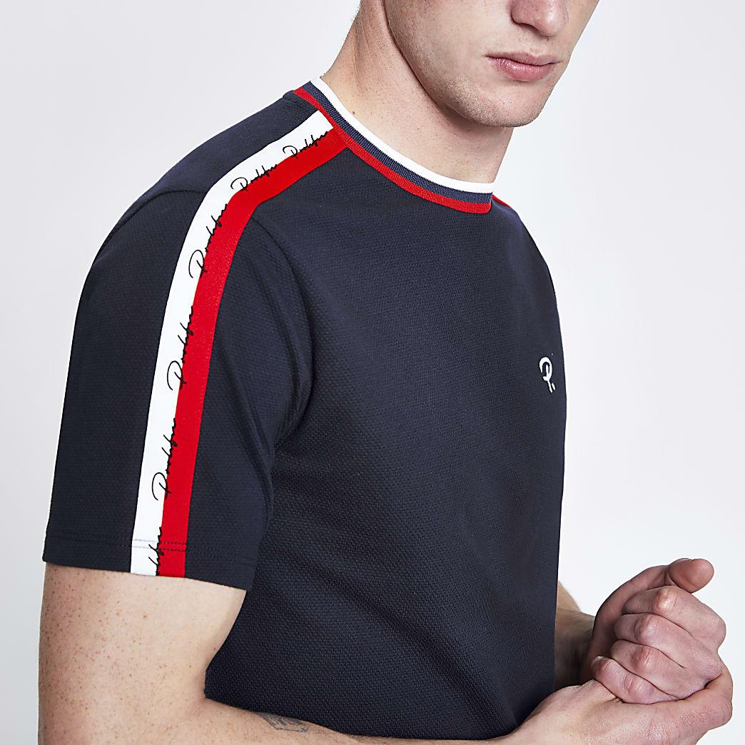 Navy Prolific slim fit T-shirt