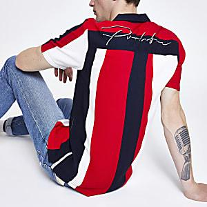 White stripe 'Prolific' shirt