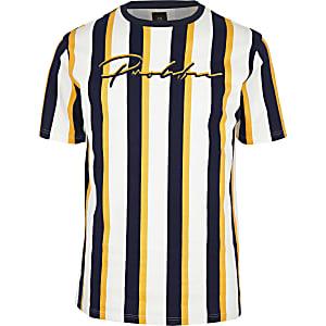 RI Big and Tall - Slim-fit T-shirt met Prolific-print