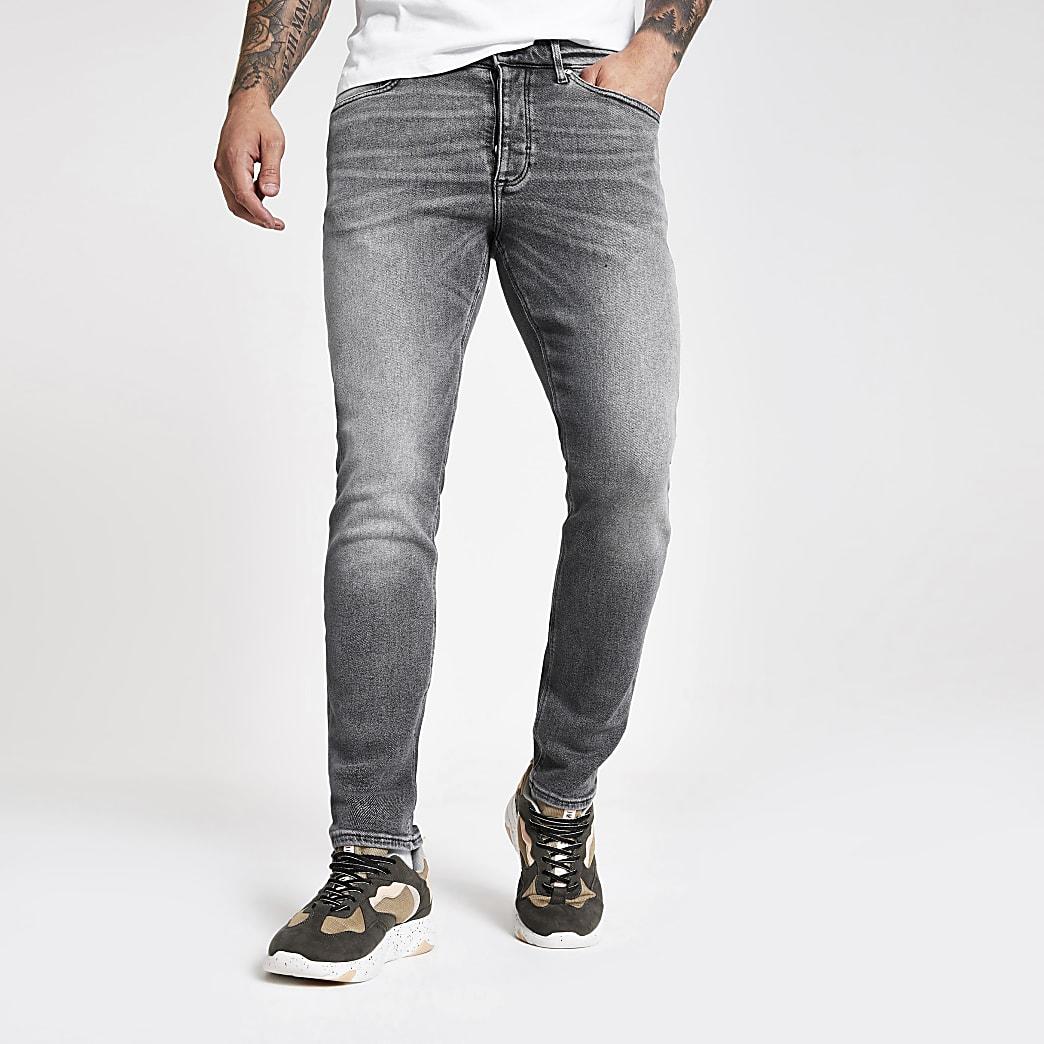 Dylan – Graue Slim Jeans
