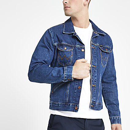 Wrangler dark blue denim jacket