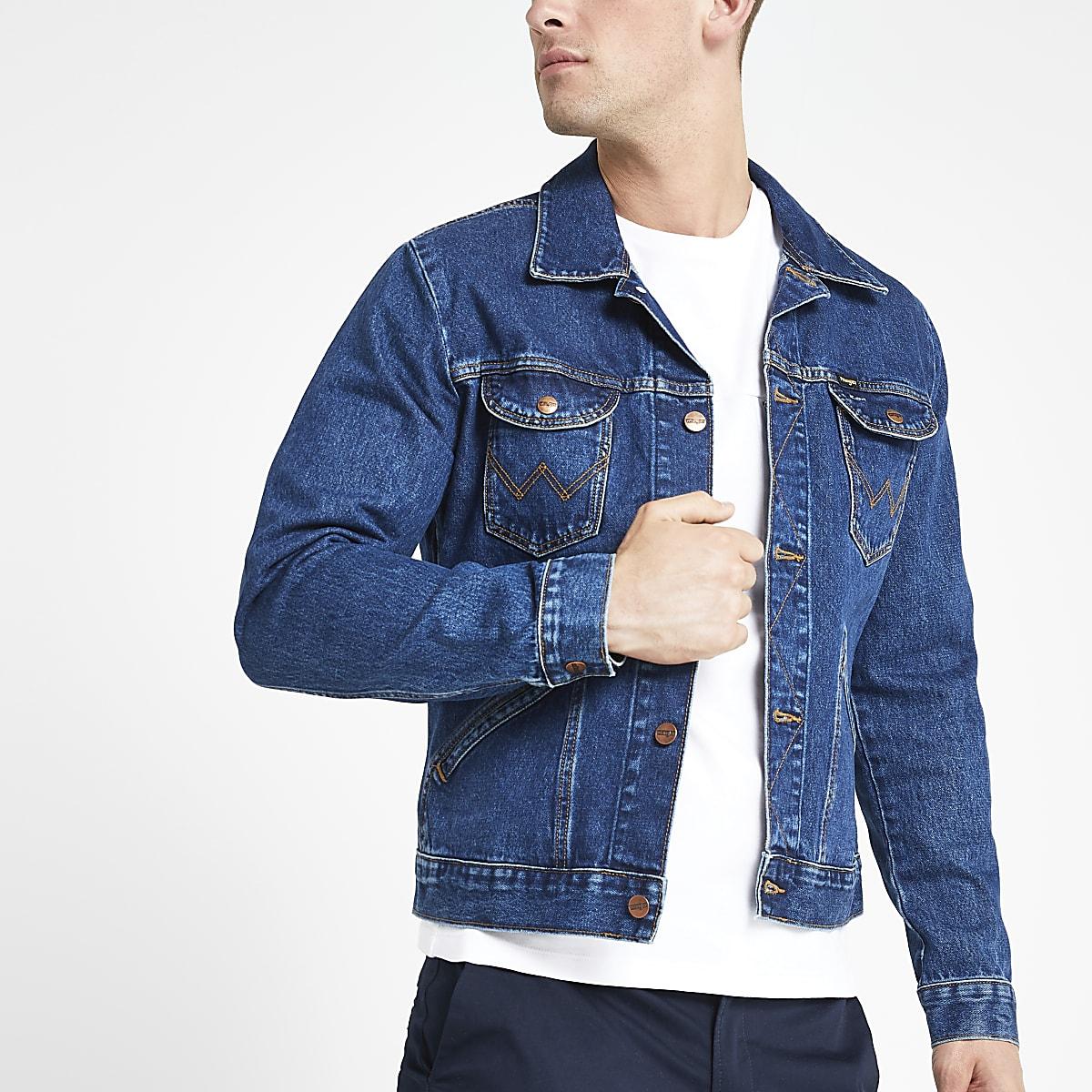 Wrangler dark blue denim jacket