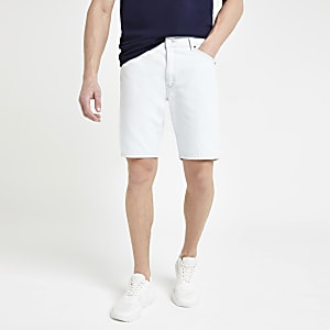 Wrangler - Lichtblauwe denim short