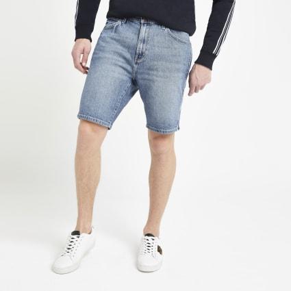 Wrangler blue denim shorts