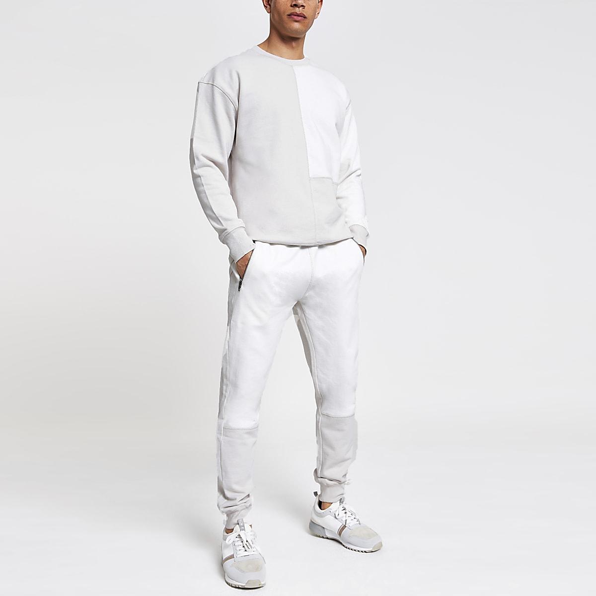 Ecru oversized sweatshirt