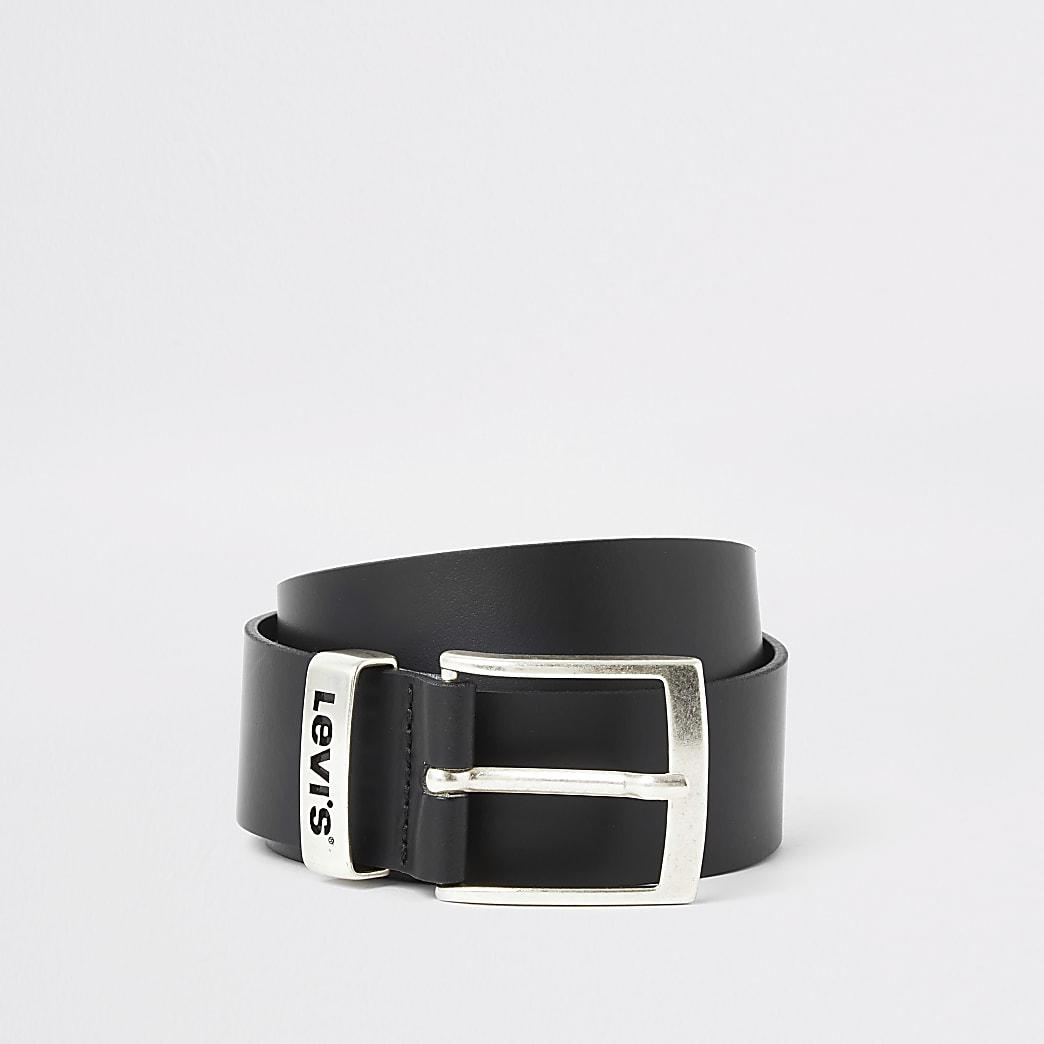 Levi's black leather belt