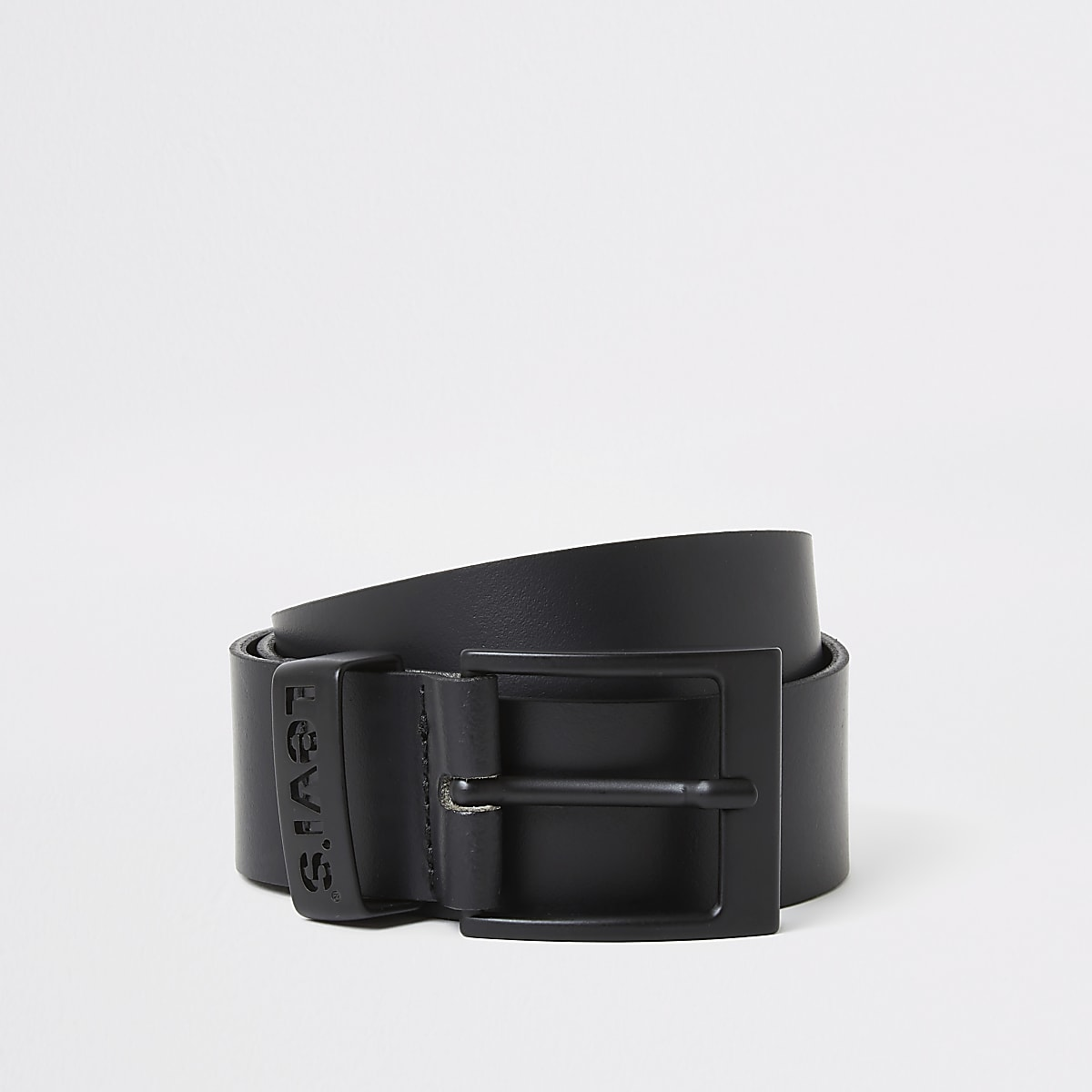 Levi's black leather belt