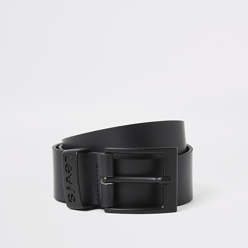 Levi's – Ceinture en cuir noire