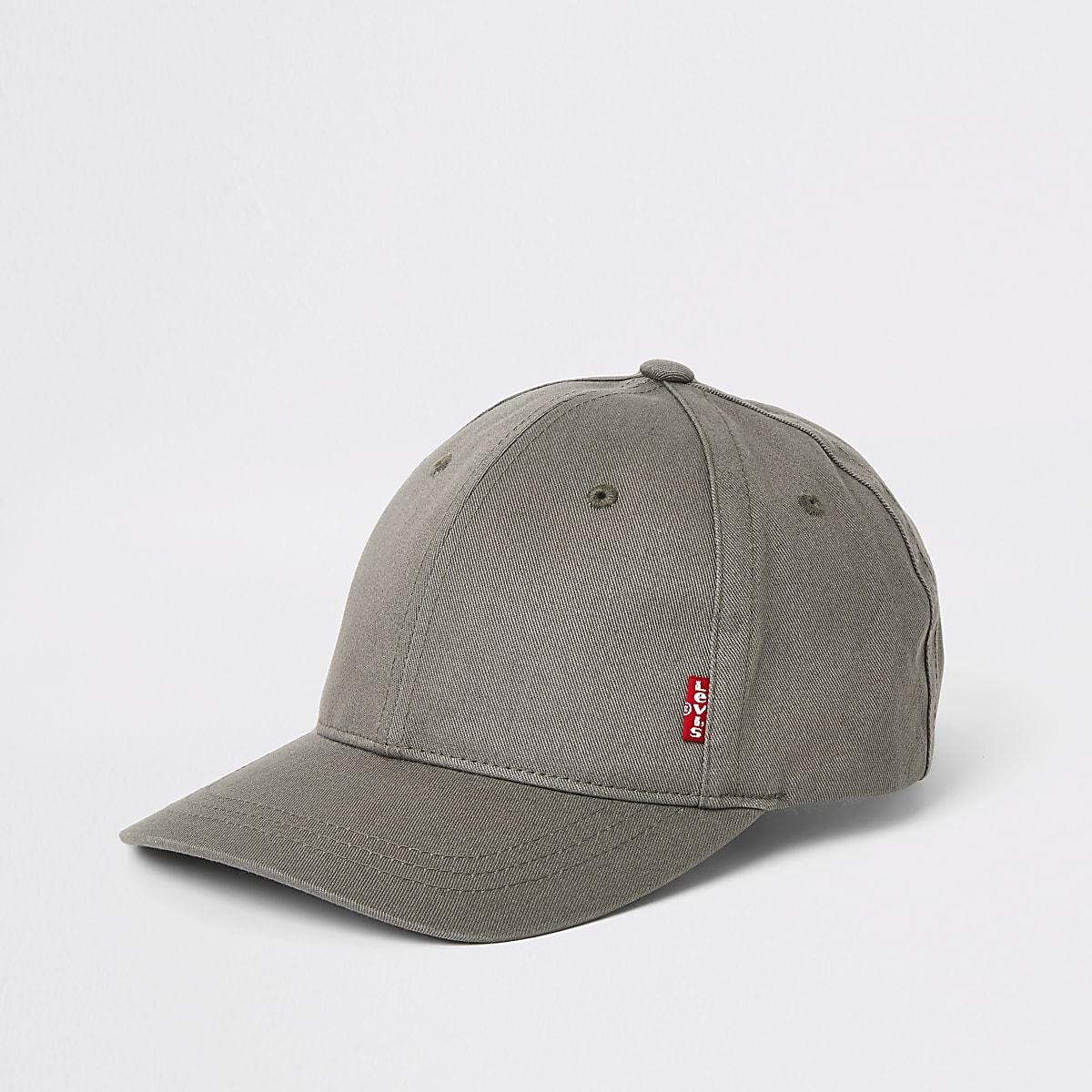 Levi's dark grey classic twill baseball cap
