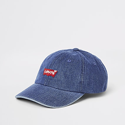 Levi's blue classic denim baseball cap