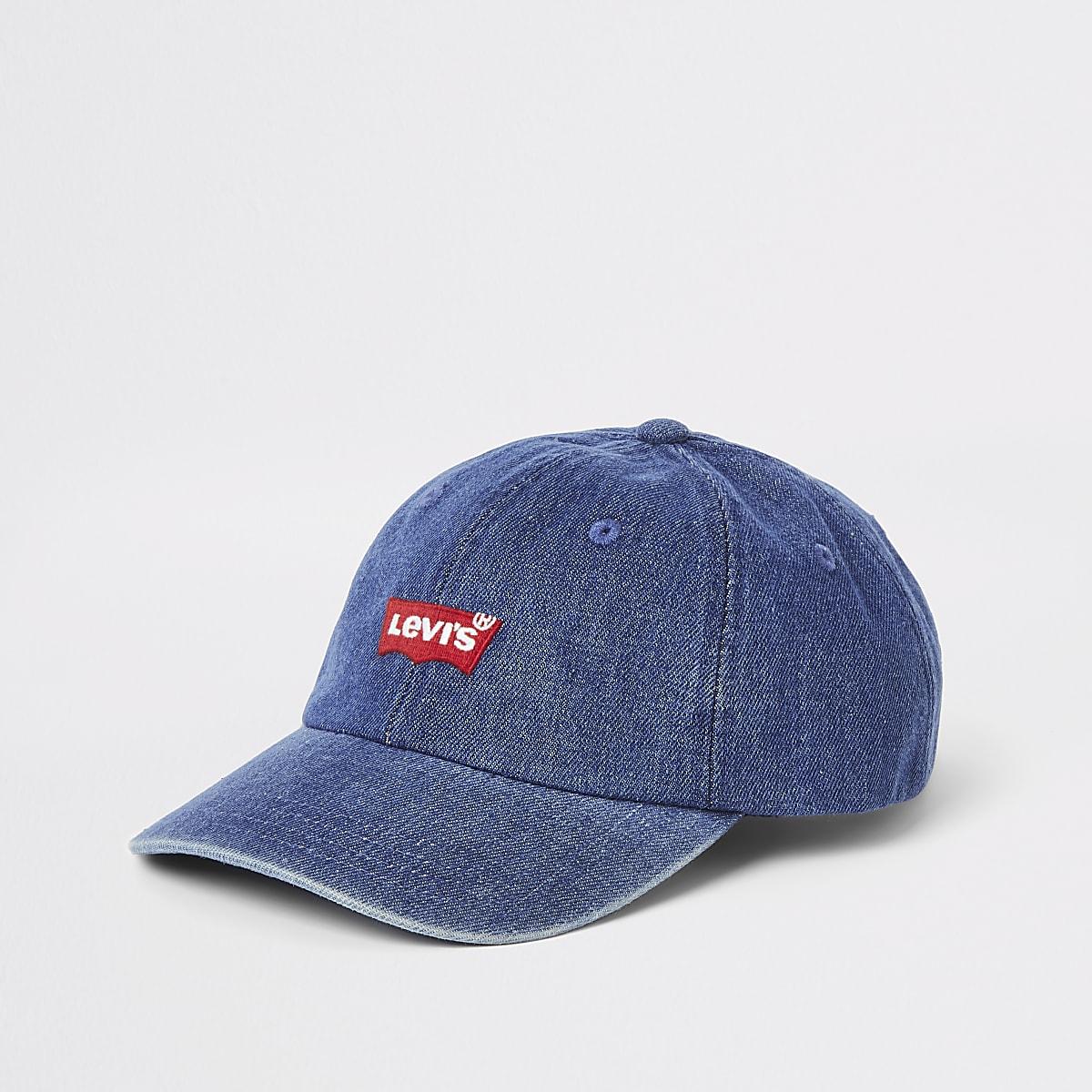 Levi's blue classic denim baseball cap