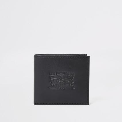 Levi's black bi-fold wallet