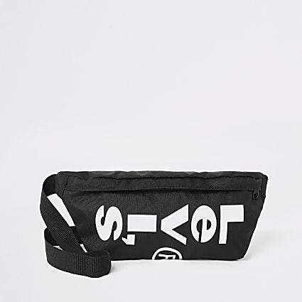 Levi's black logo cross body bag
