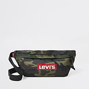 Levi's - Sac à bandoulière camouflage avec logo