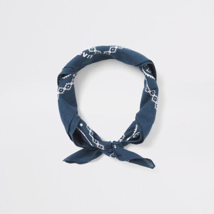 Levi's blue bandana