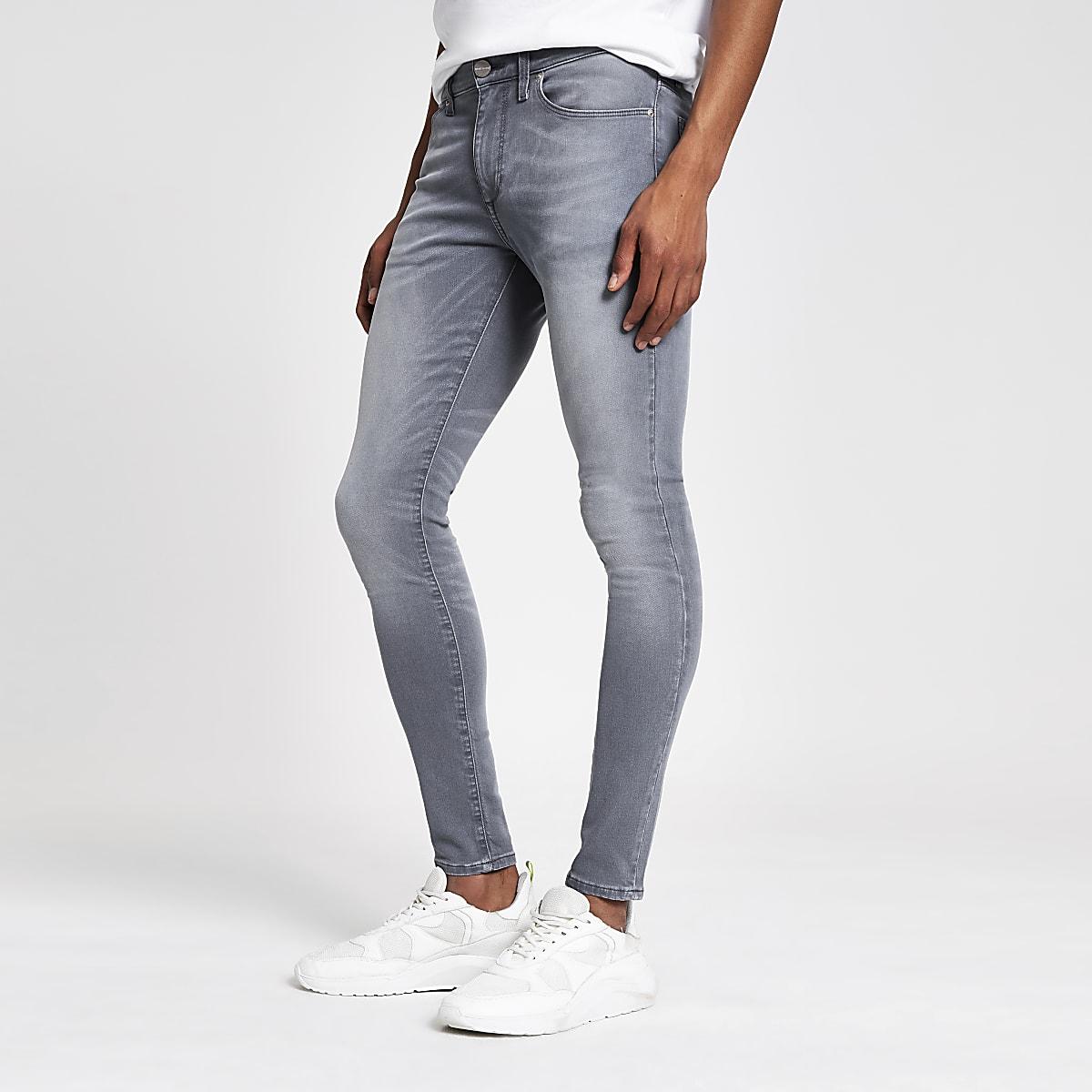 Ollie – Jean ultra-skinny gris