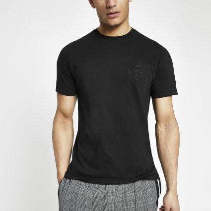 Black Prolific slim fit T-shirt