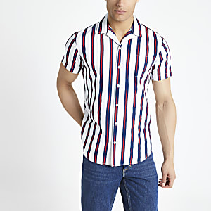 Jack and Jones white stripe shirt
