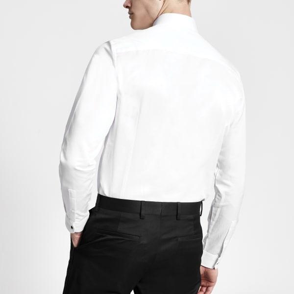 River Island - weißes hemd - 4