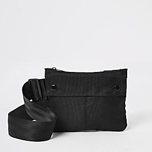 Zwart tas met riem