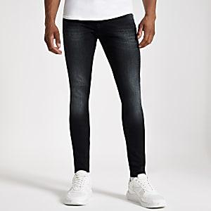 Ollie – Jean ultra-skinny bleu foncé