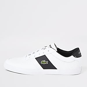 Lacoste white Courtmaster sneakers