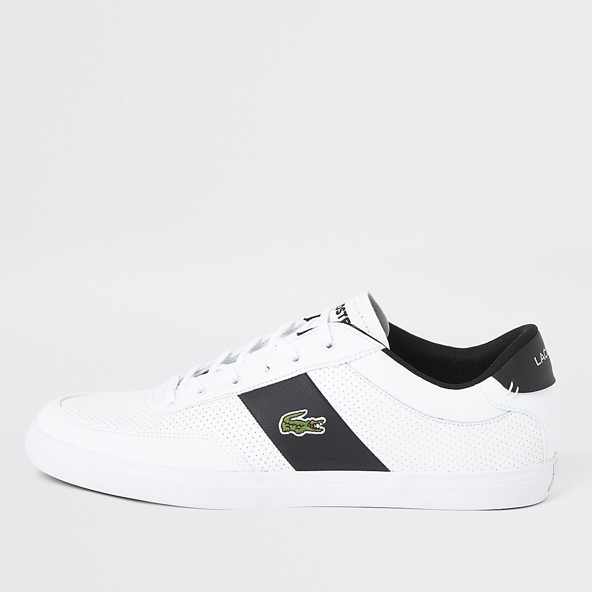 Lacoste white Courtmaster trainers