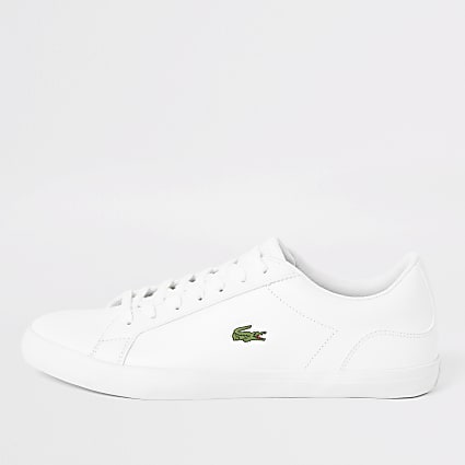 Lacoste white leather Lerond trainers