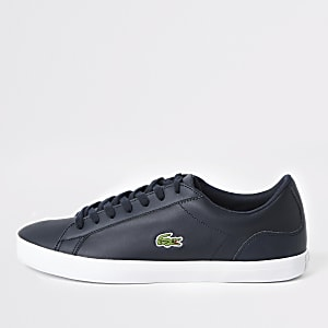 Lacoste Lerond navy trainers
