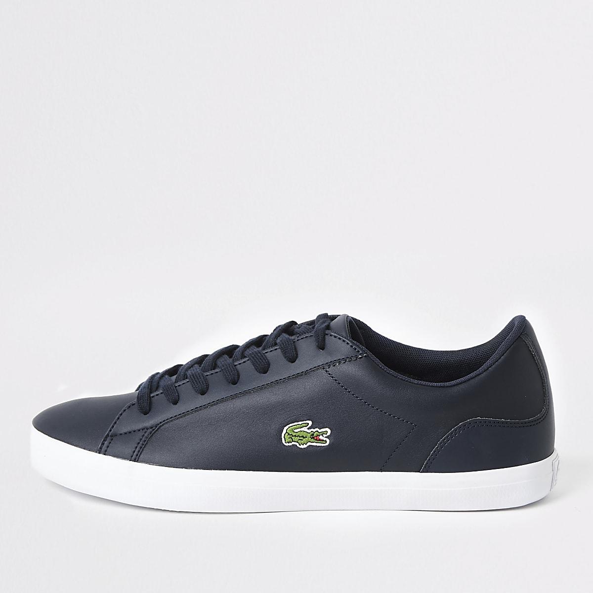 Lacoste – Lerond – Marineblaue Sneaker