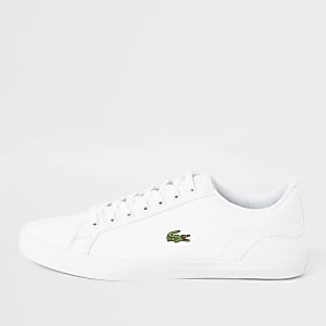 Lacoste white Lerond canvas sneakers
