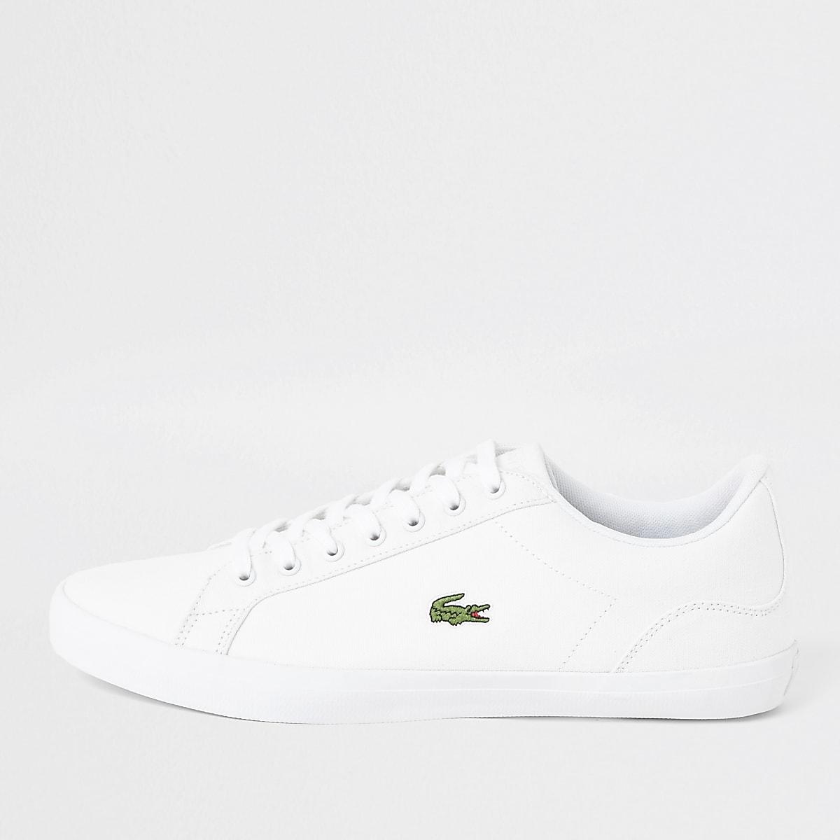 Lacoste – Lerond – Weiße Sneaker aus Leder