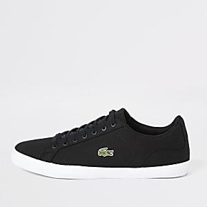 Lacoste - Lerond - Zwarte canvas sneakers