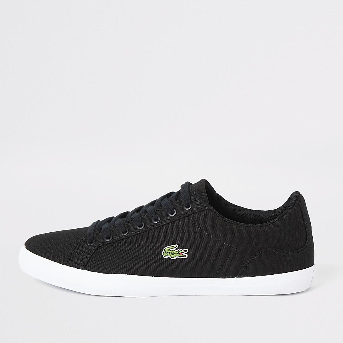 Lacoste black Lerond canvas sneakers