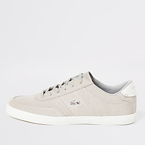 Lacoste grey Courtmaster trainers